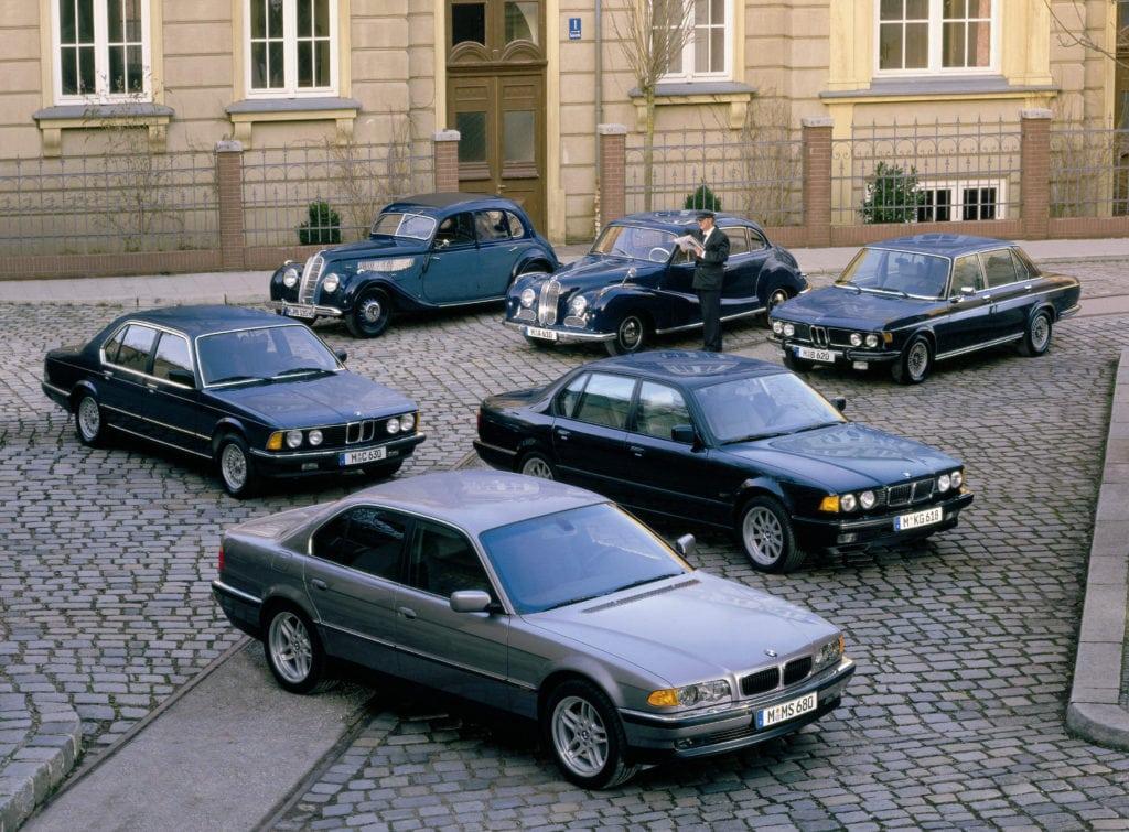 Классические автомобили BMW