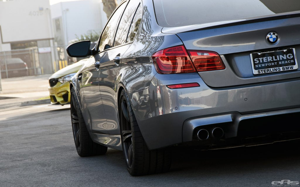 Топ 5 самых красивых задних фар BMW: M5 F10