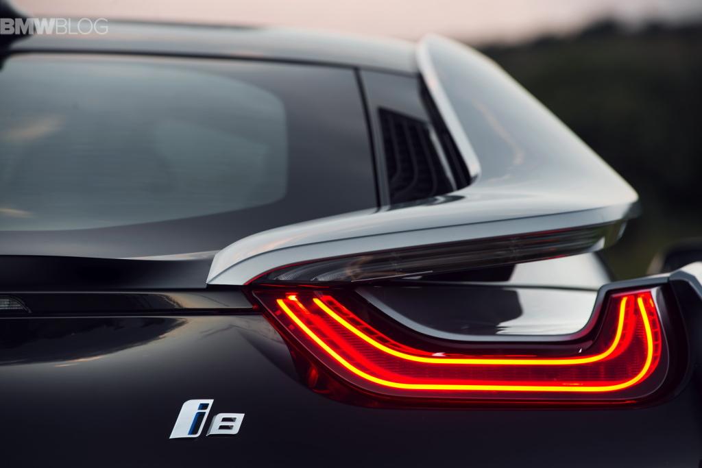 Топ 5 самых красивых задних фар BMW: i8
