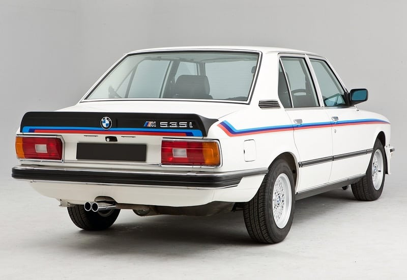 История и технические характеристики BMW M535i E12