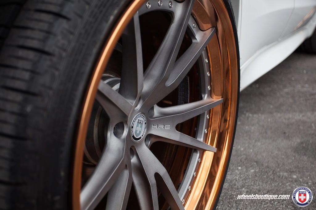 2015 BMW X5 M Sport на дисках HRE S104 от Wheels Boutique