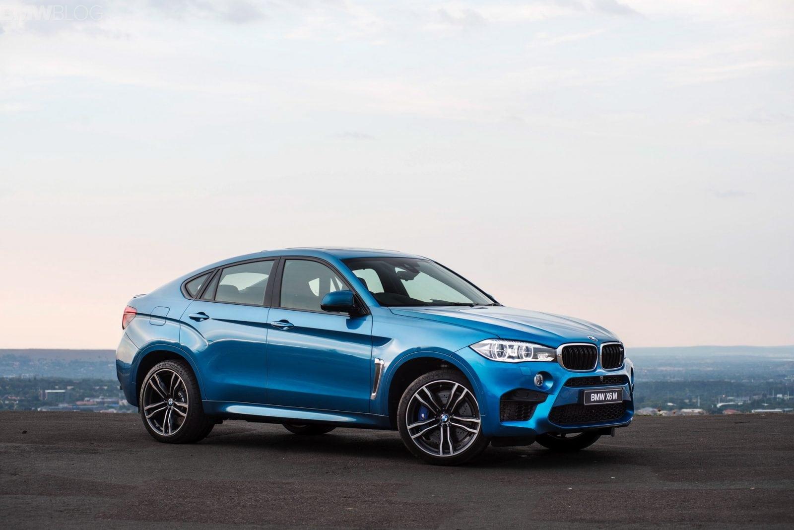 Фото нового BMW X6 M 2015