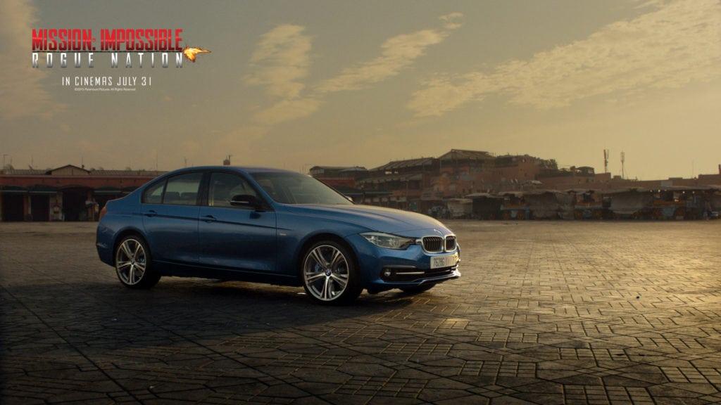 Миссия Невыполнима: Племя изгоев - обои BMW Mission to Drive