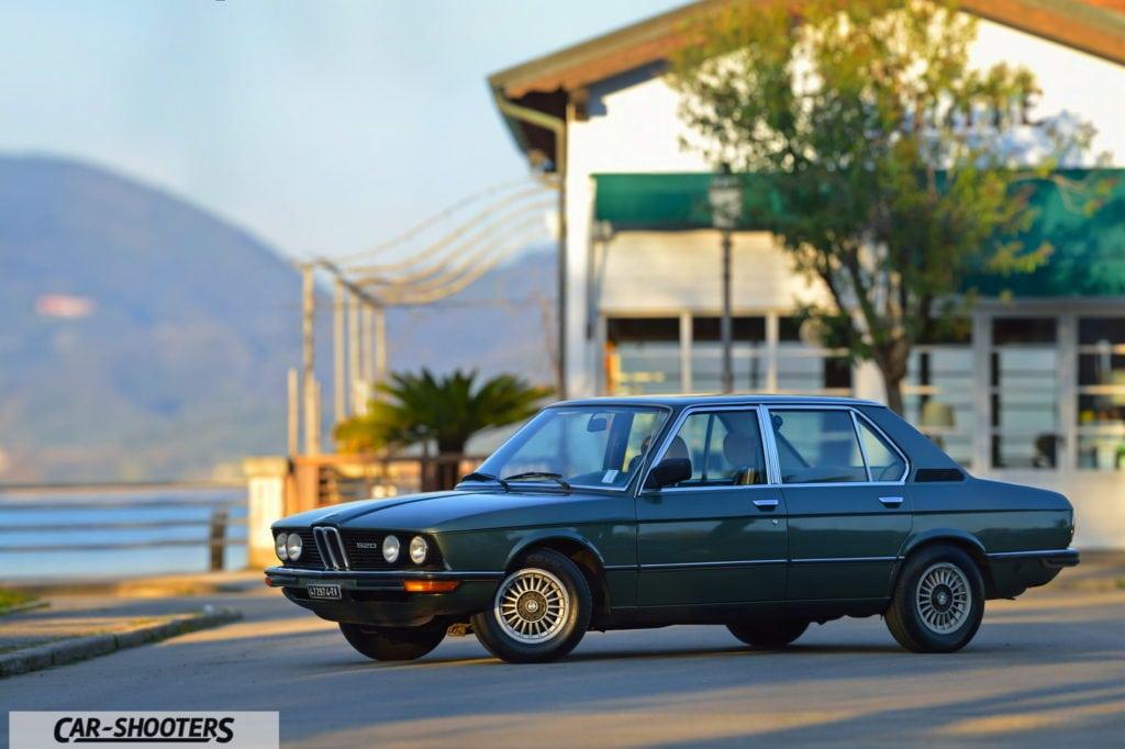 Эпохальный BMW E12 520i в путешествии по Италии