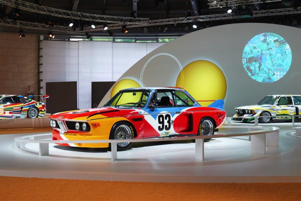 BMW Art Cars исполняется 40 лет