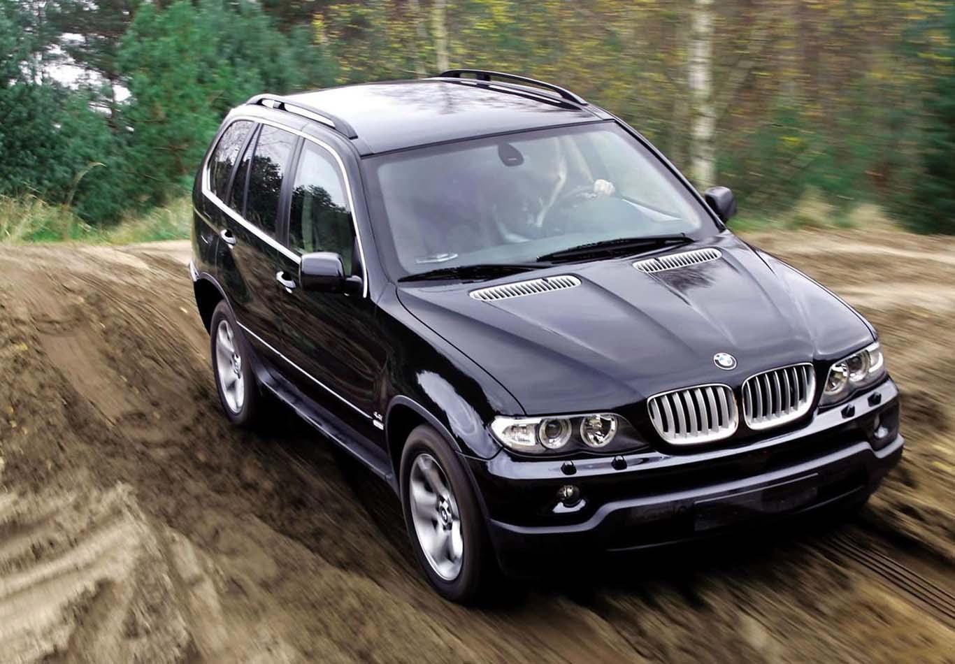 Рестайлинг BMW X5 E53 4.4i