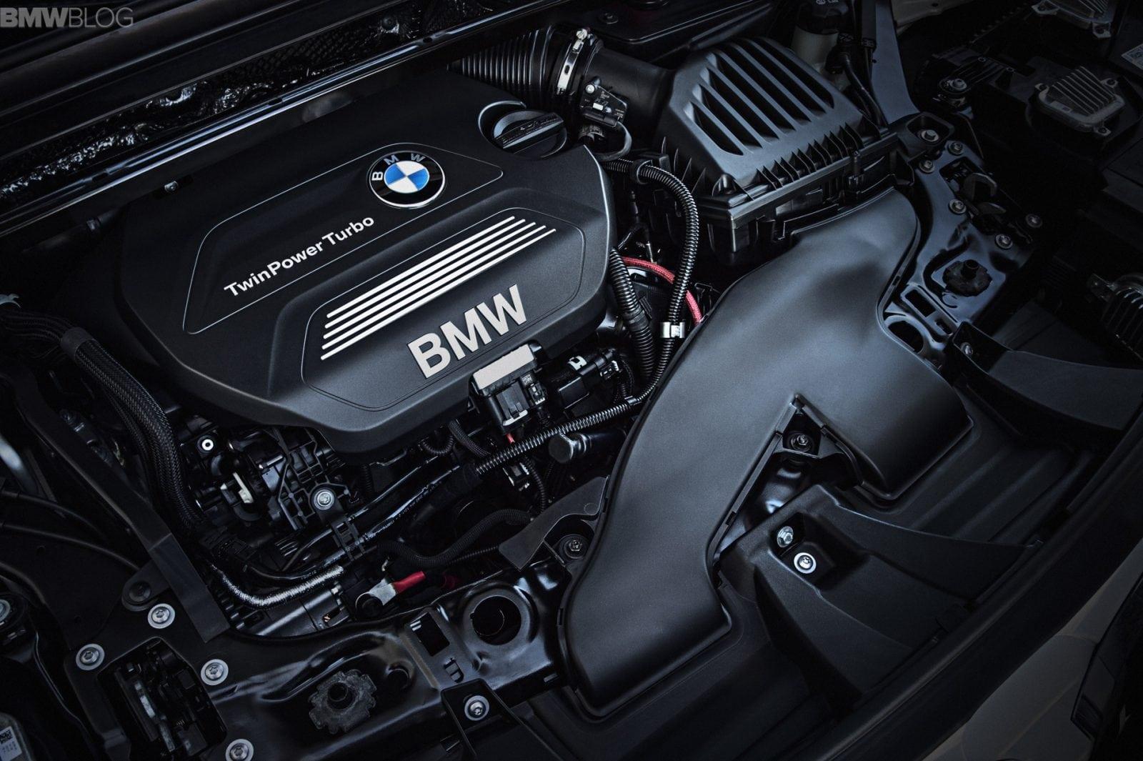 Двигатель нового BMW X1 2016 F48