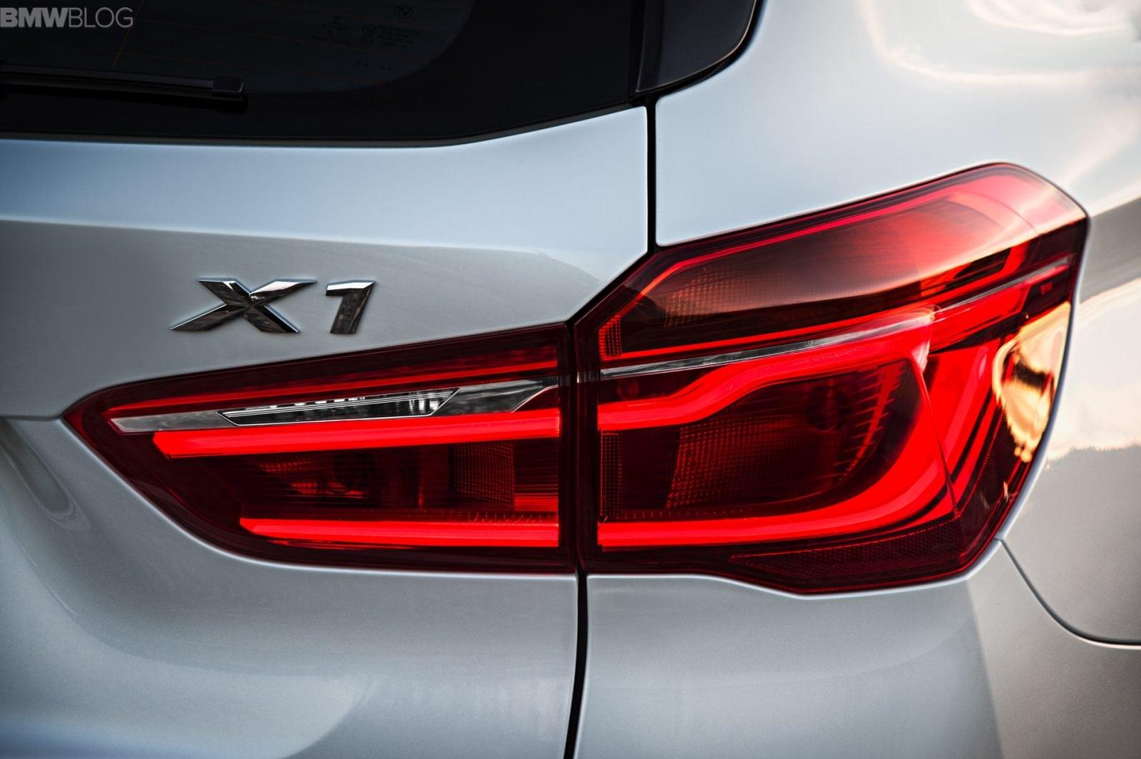 Экстерьер нового BMW X1 F48 2016