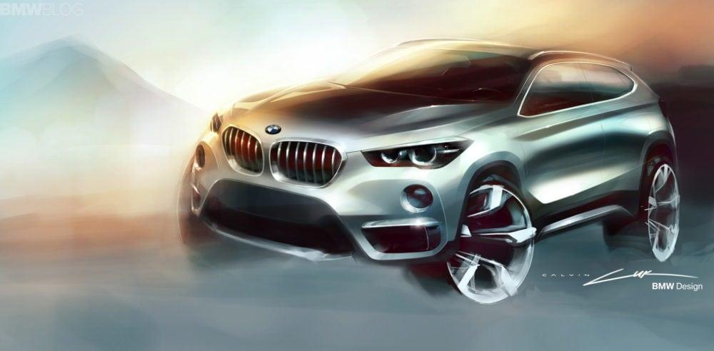 Дизайн нового BMW X1 2016 F48