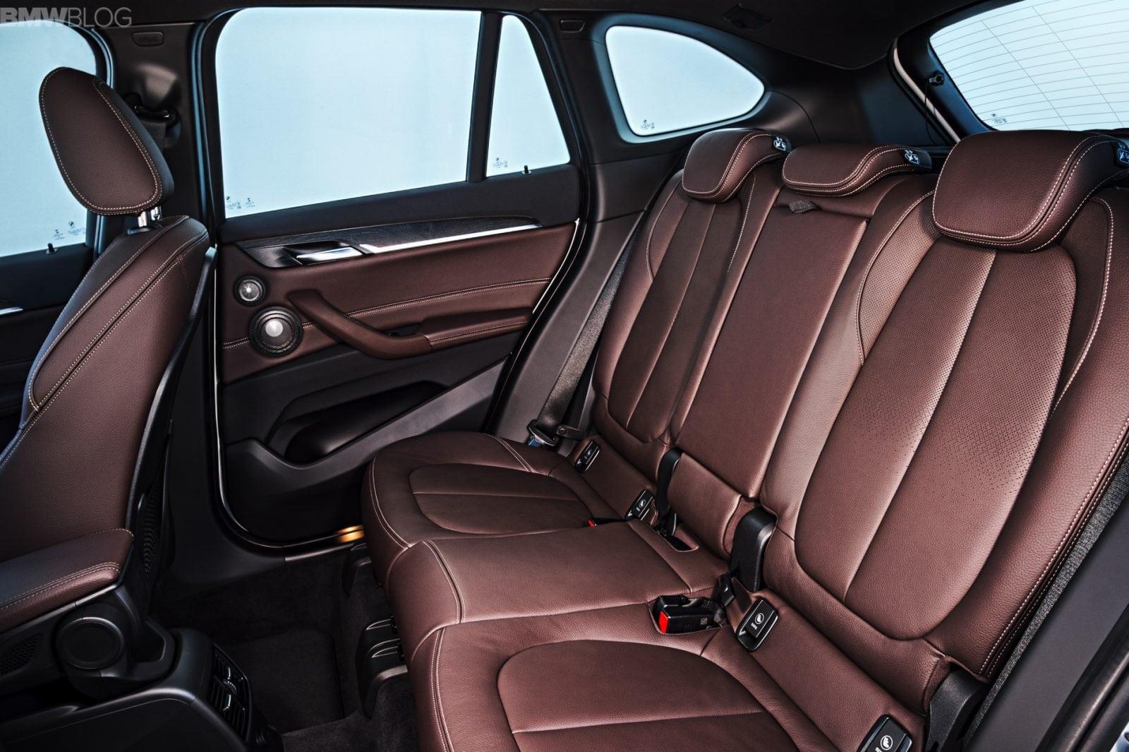 Интерьер нового BMW X1 2016 F48