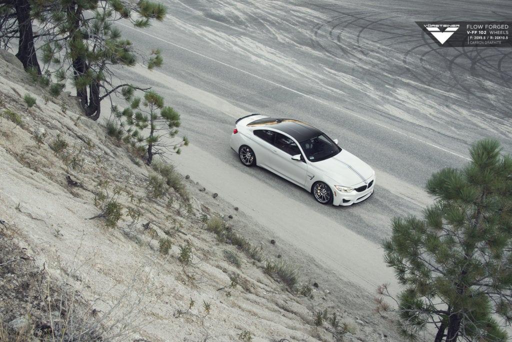 BMW F82 M4 на дисках Vorsteiner Flow Forged V-FF 102