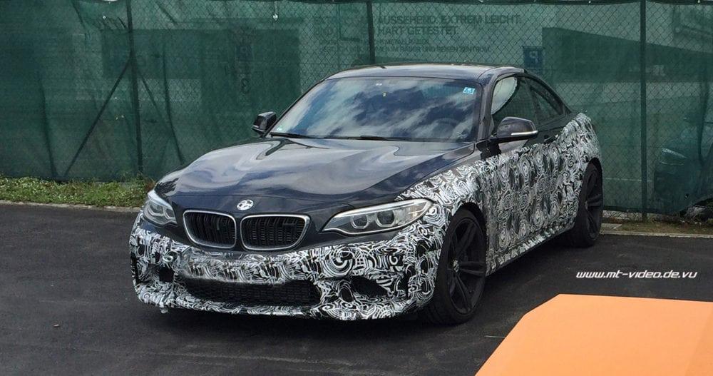 BMW M2 Coupe F87 Spy Photos