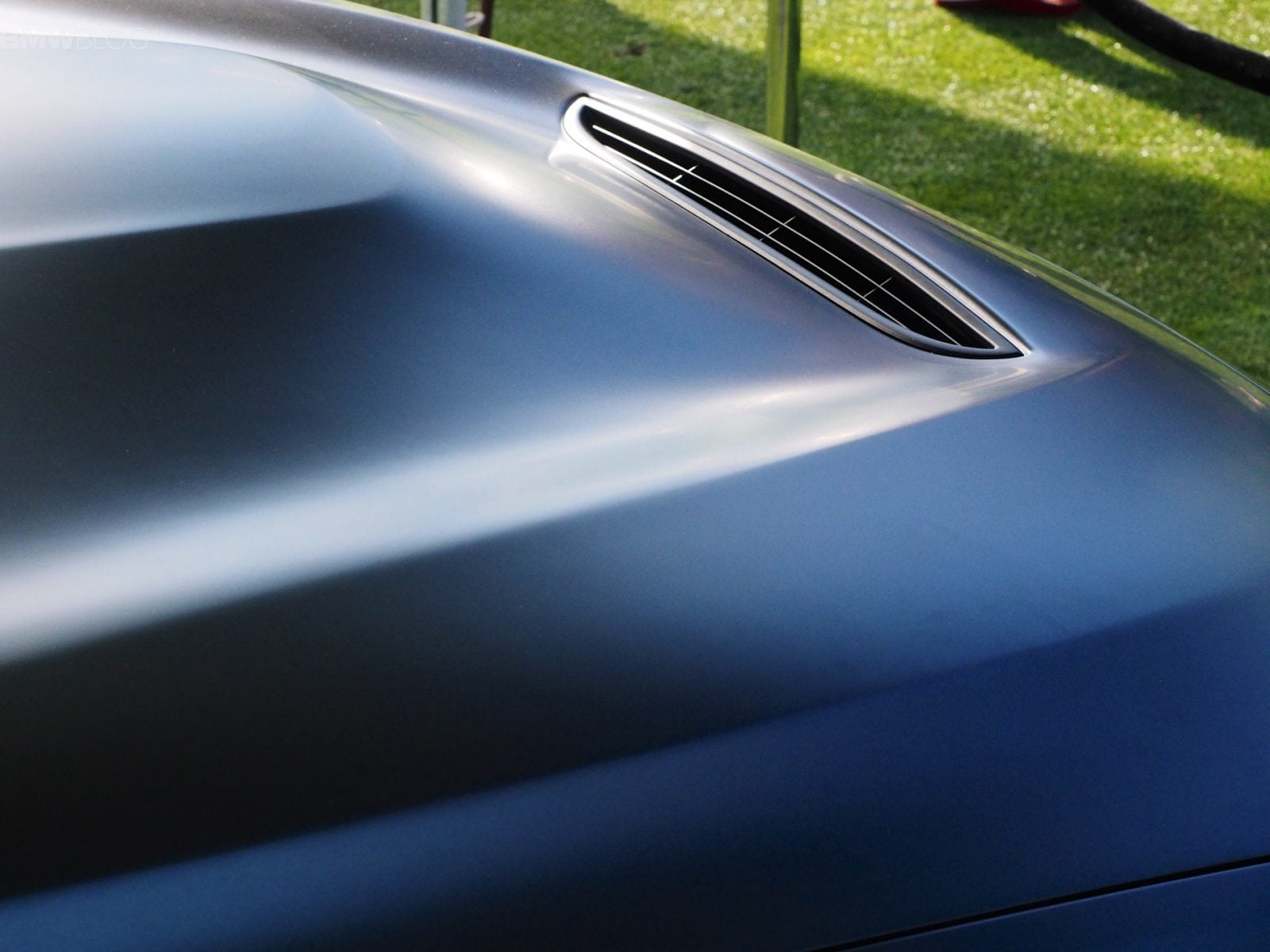 Фото с премьеры BMW M4 GTS Concept на выставке Concours d'Elegance