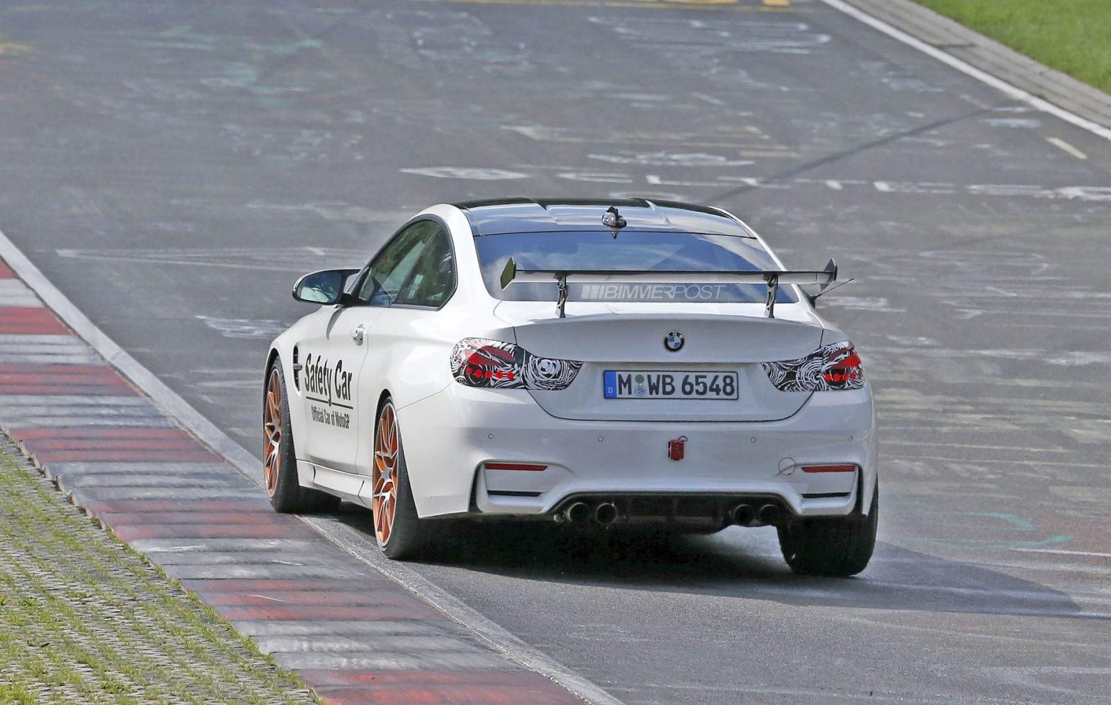 BMW M4 GTS на тестах на трассе Nurburgring