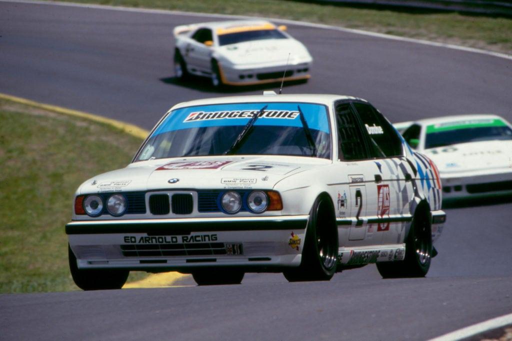 David Donohue за рулем 1991 M5 in the IMSA Supercar Series 1994