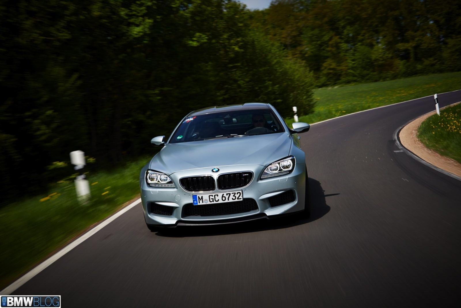 BMW M6 Gran Coupe в цвете Silverstone Metallic