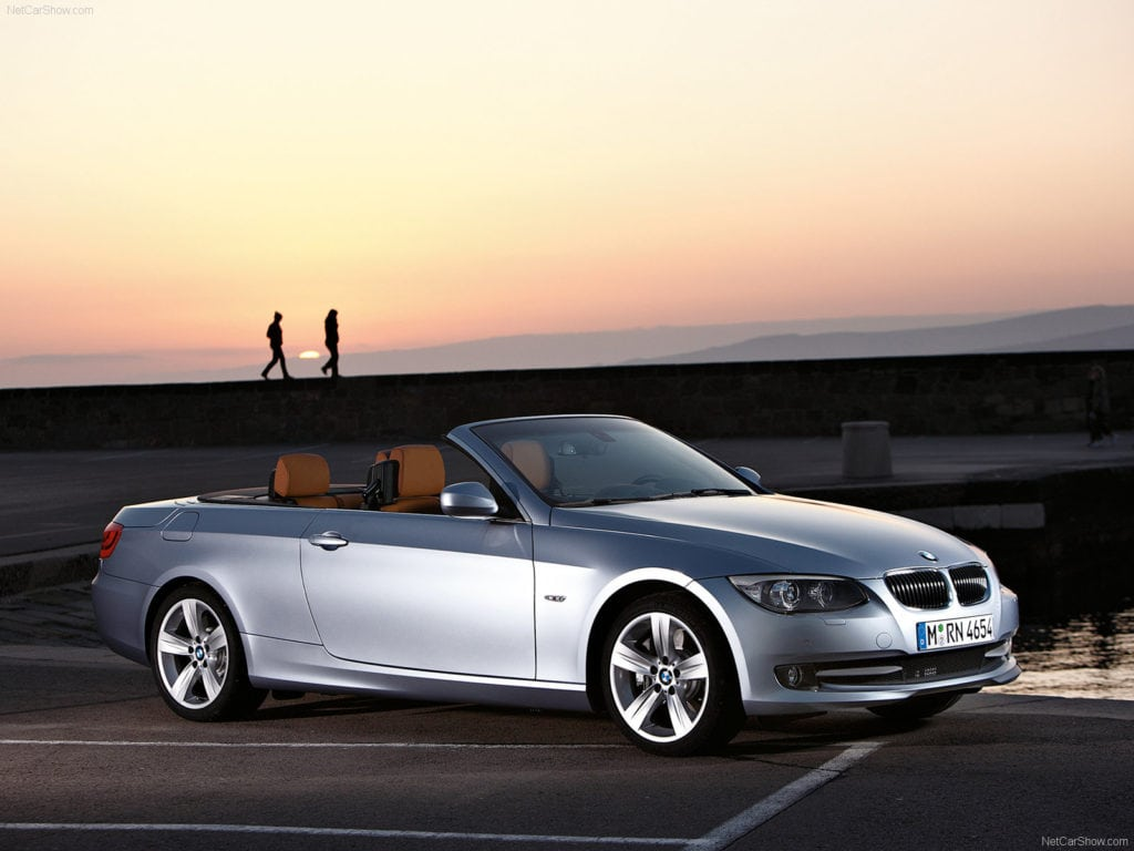 BMW 3 series E93 Convertible
