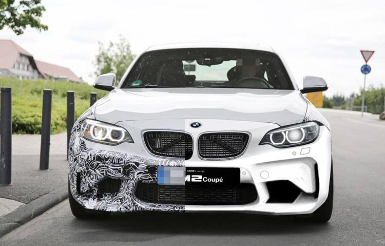 Шпионские фото BMW M2