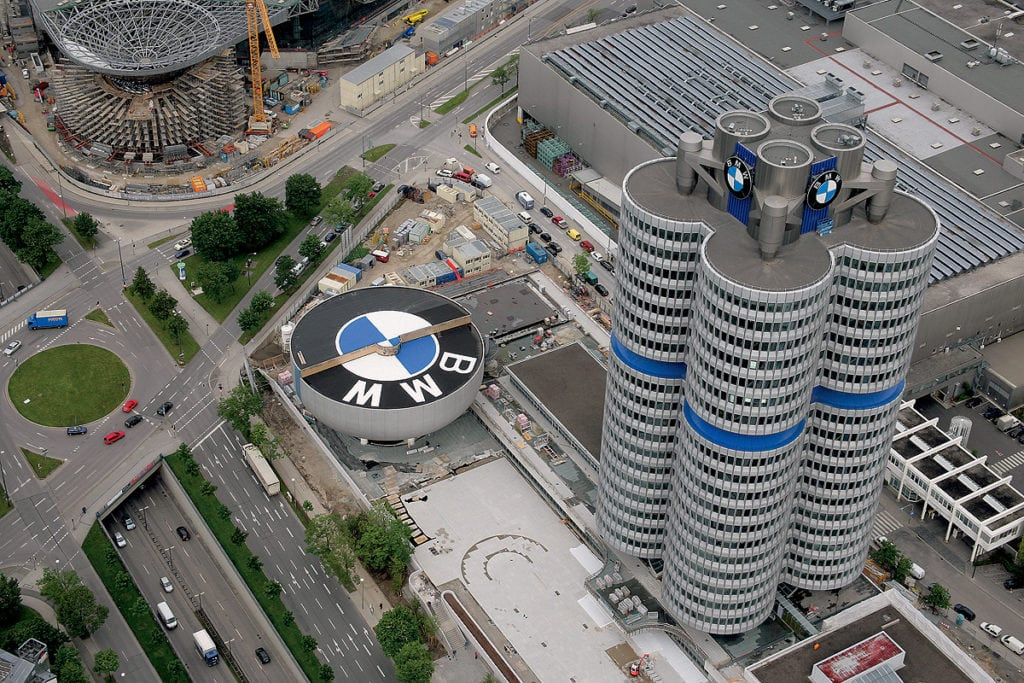 BMW AG в Мюнхене