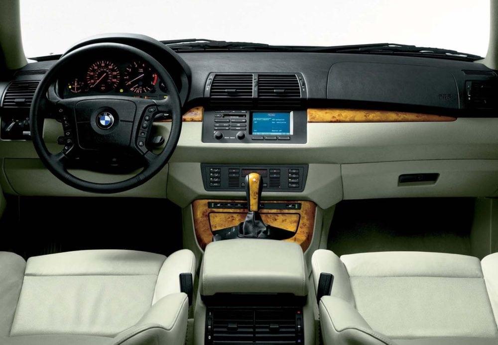 Интерьер BMW X5 E53 4.8i