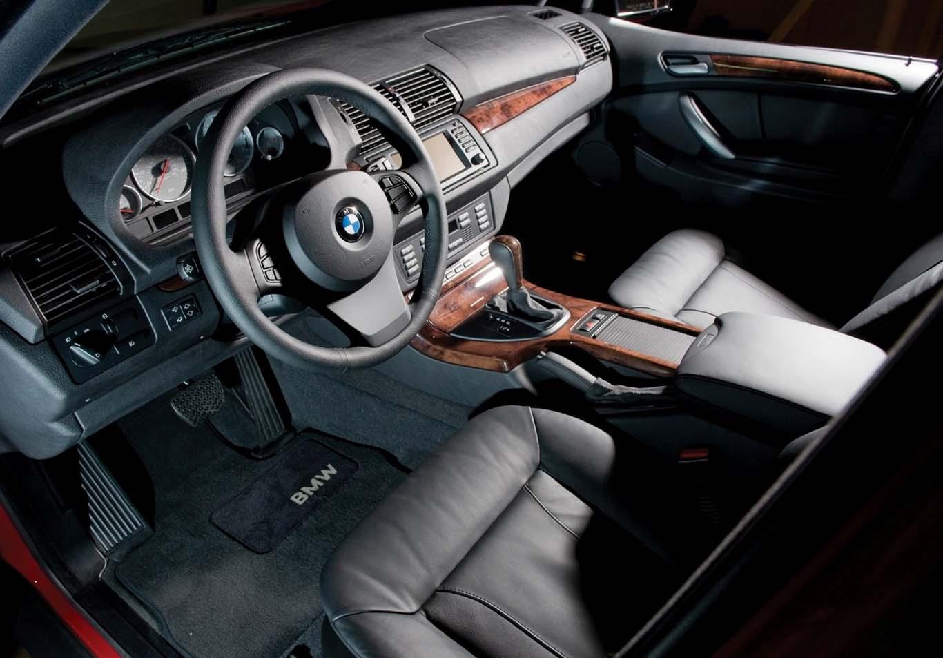 Интерьер BMW X5 E53 4.8is
