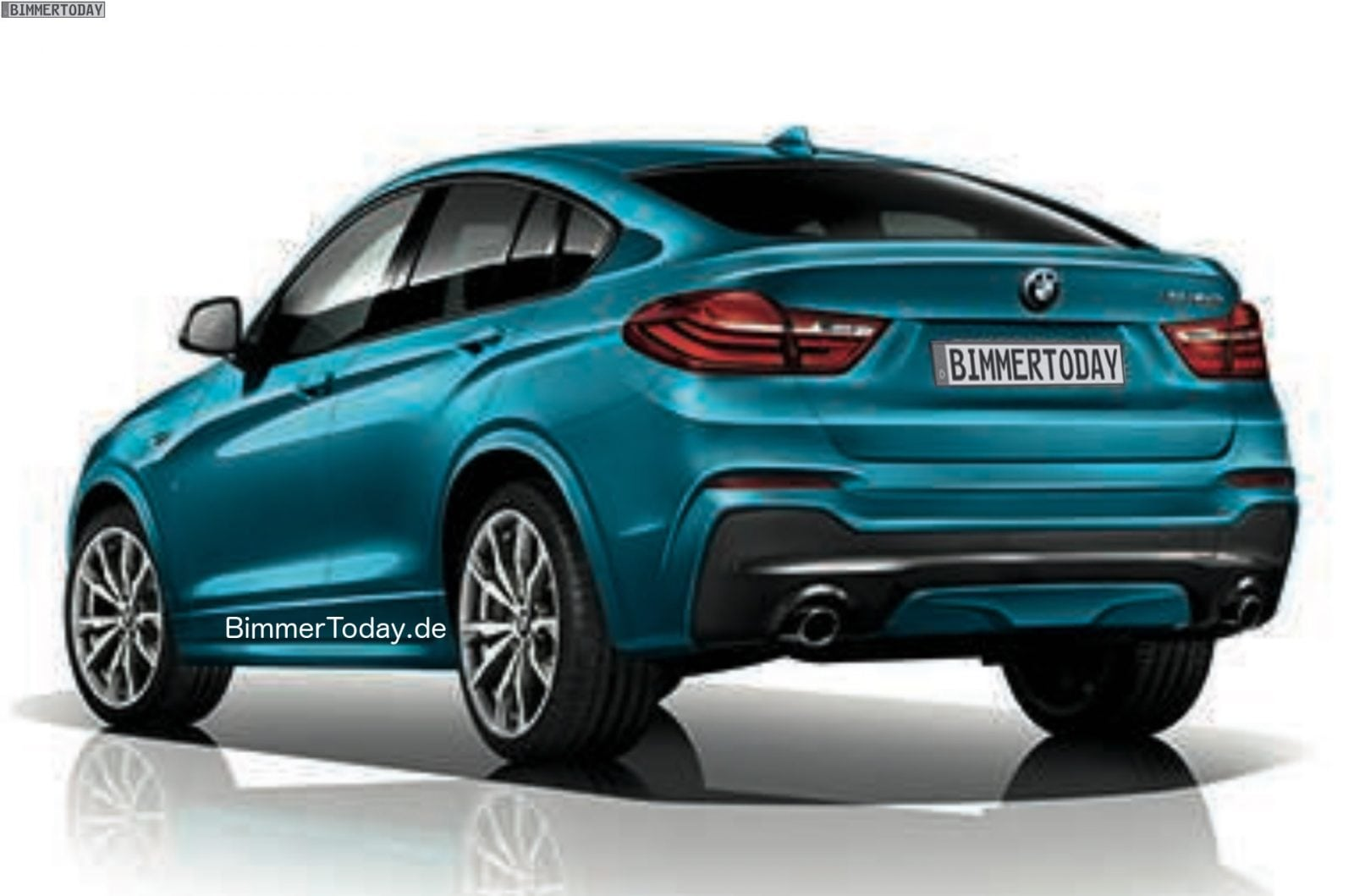 BMW X4 M40i 2015 Утечка от BimmerToday