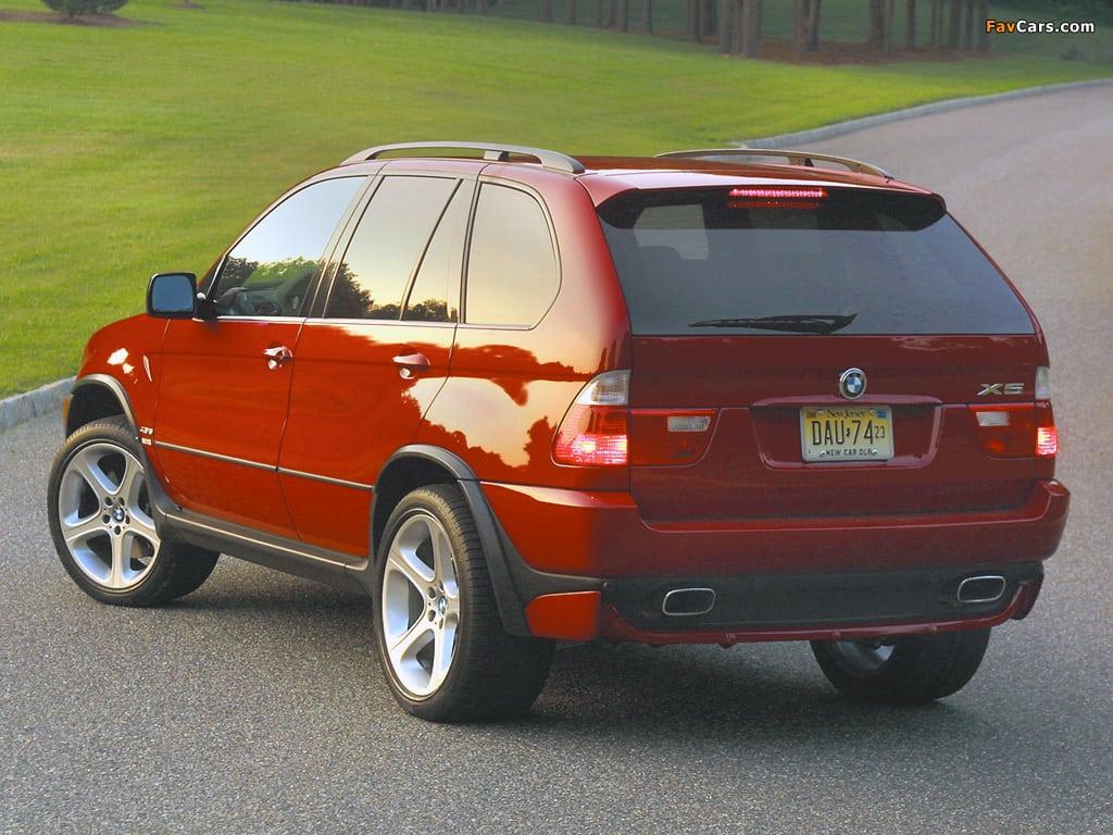 BMW X5 E53 4.6is UK Spec 2002 года
