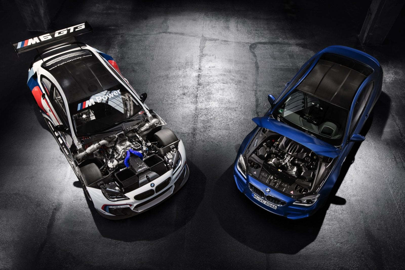 BMW M6 GT3 официальные фото - обои 1900x1200