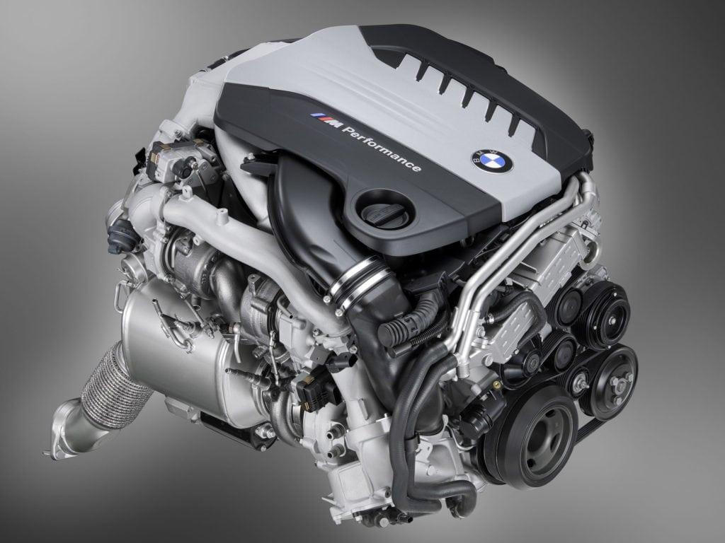 На фото двигатель BMW N57S Diesel