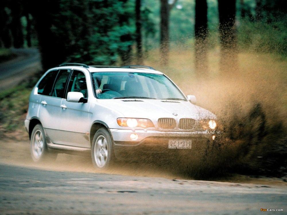 BMW X5 E53 4.4 2000 Year AU Spec