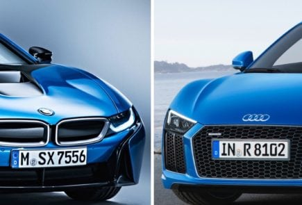 BMW i8 в сравнении с Audi R8