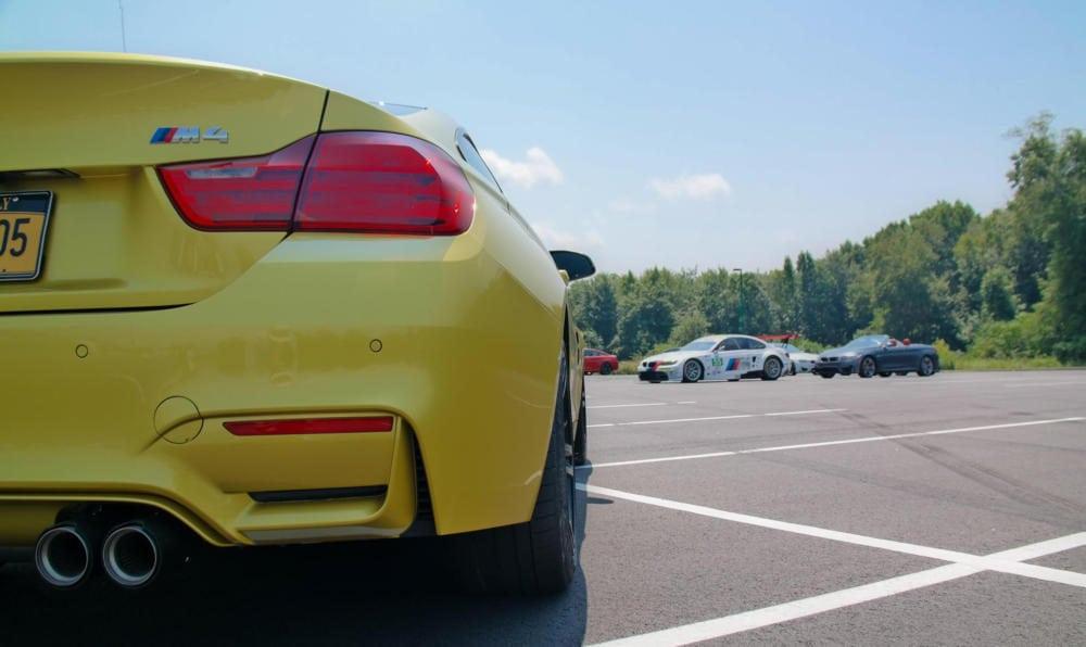 Инициация BMW M4 - первый в своем роде