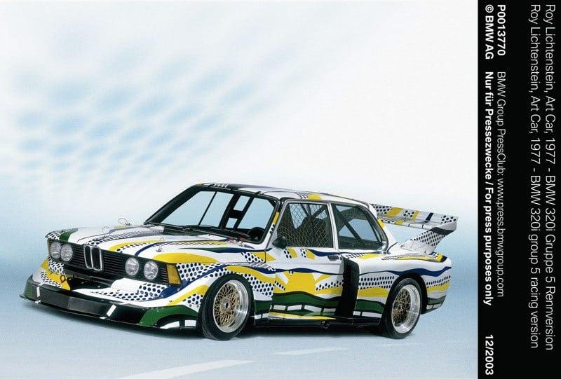 30 лет BMW 3 серии: первое поколение в кузове E21 модель 320i by Roy Lichtenstein