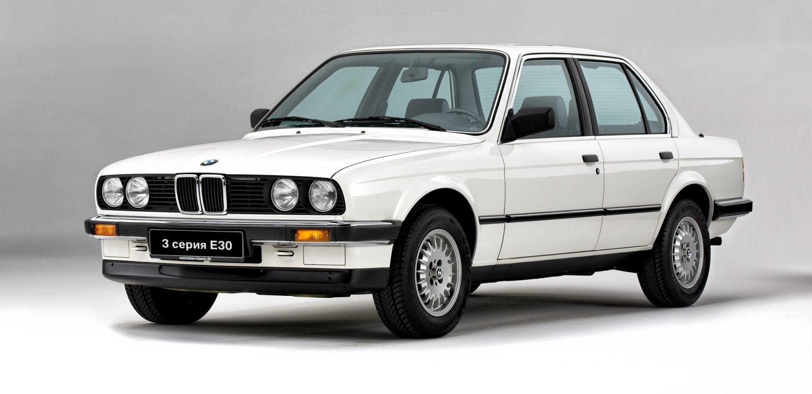 30 лет BMW 3 серии: второе поколение в кузове E30