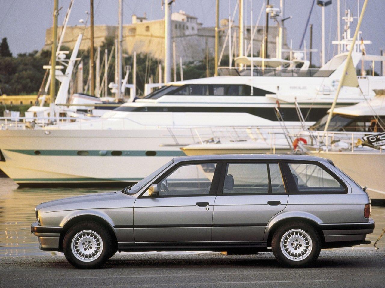 30 лет BMW 3 серии: второе поколение в кузове E30 Touring