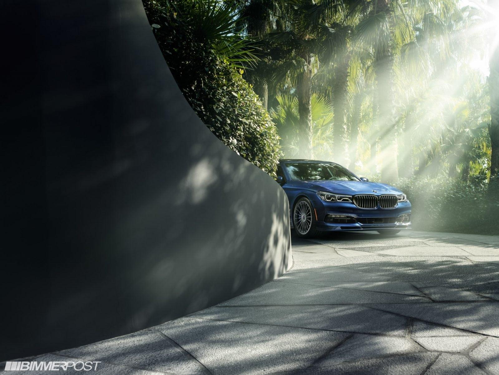 Новейший BMW Alpina B7 XDRIVE представлен в США