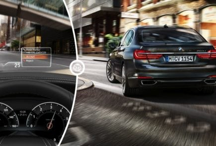Что такое Head-Up Display (HUD) в автомобилях BMW?