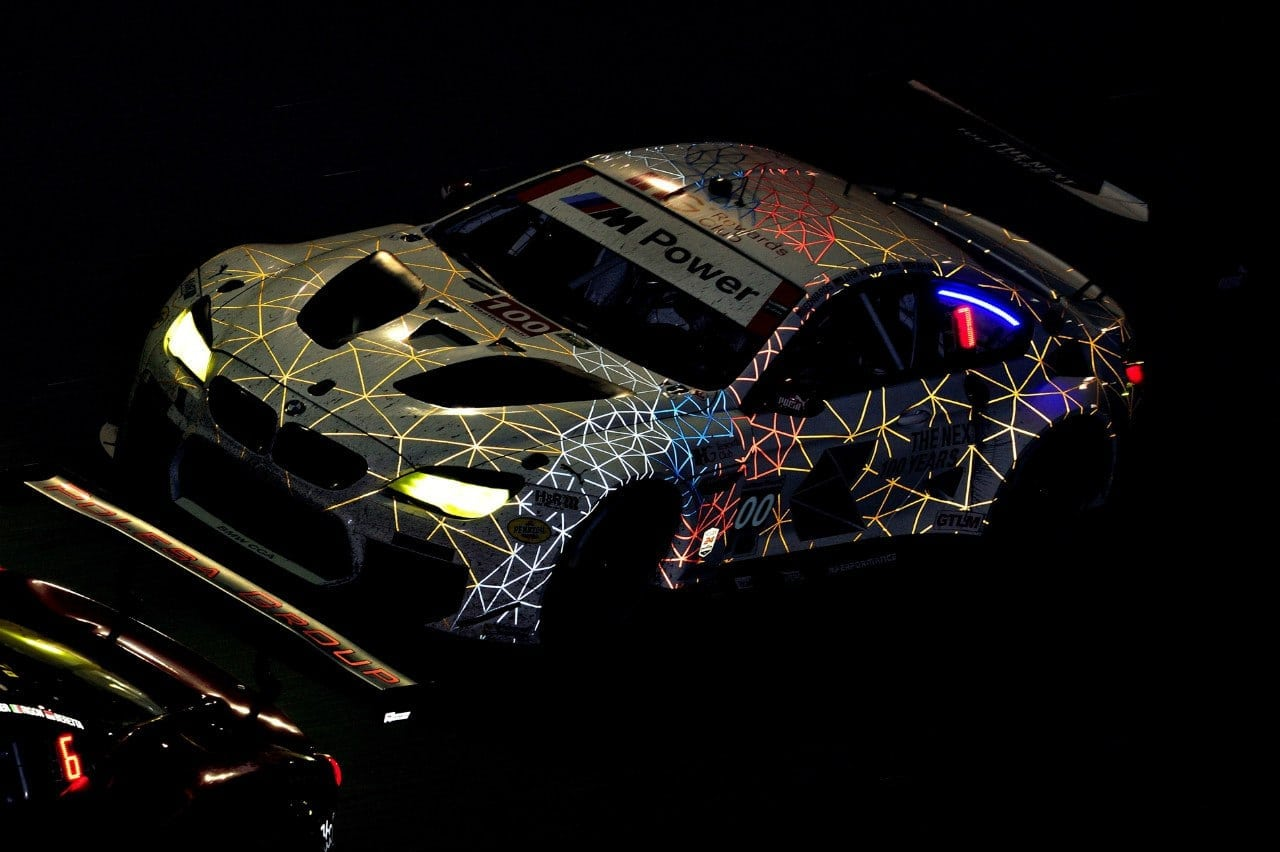 BMW M6 GTLM и BMW M6 GT3 на 24 часах Дайтоны