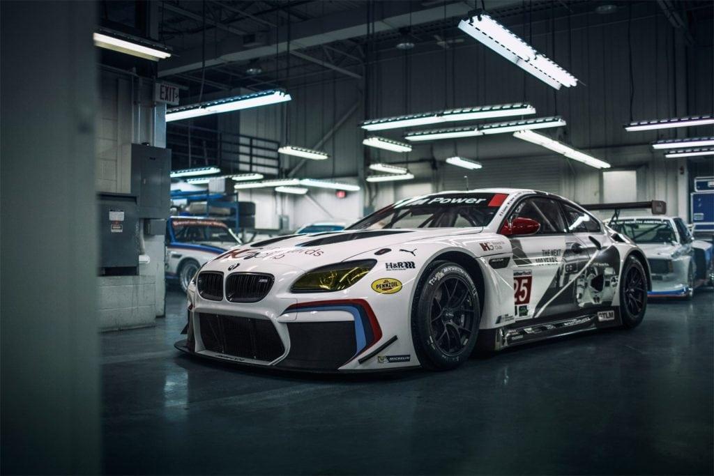 Команда BMW RLL показала два BMW M6 GTLM в специальном раскрасе, подготовленном к столетию производителя.