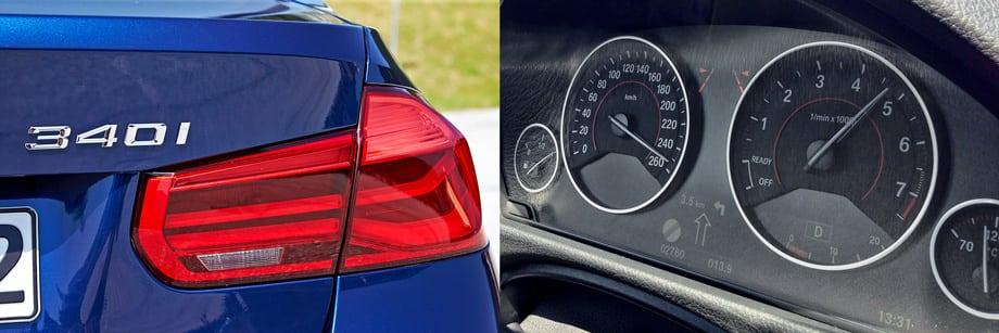 В BMW уверяют, что обозначение 340 никак не связано с 40-летием «трёшки». Ну и зря: в кои веки есть приличное оправдание накрутке индексов при неизменном рабочем объёме двигателя. Ограничитель скорости для 326-сильного седана — вполне осязаемая штука!