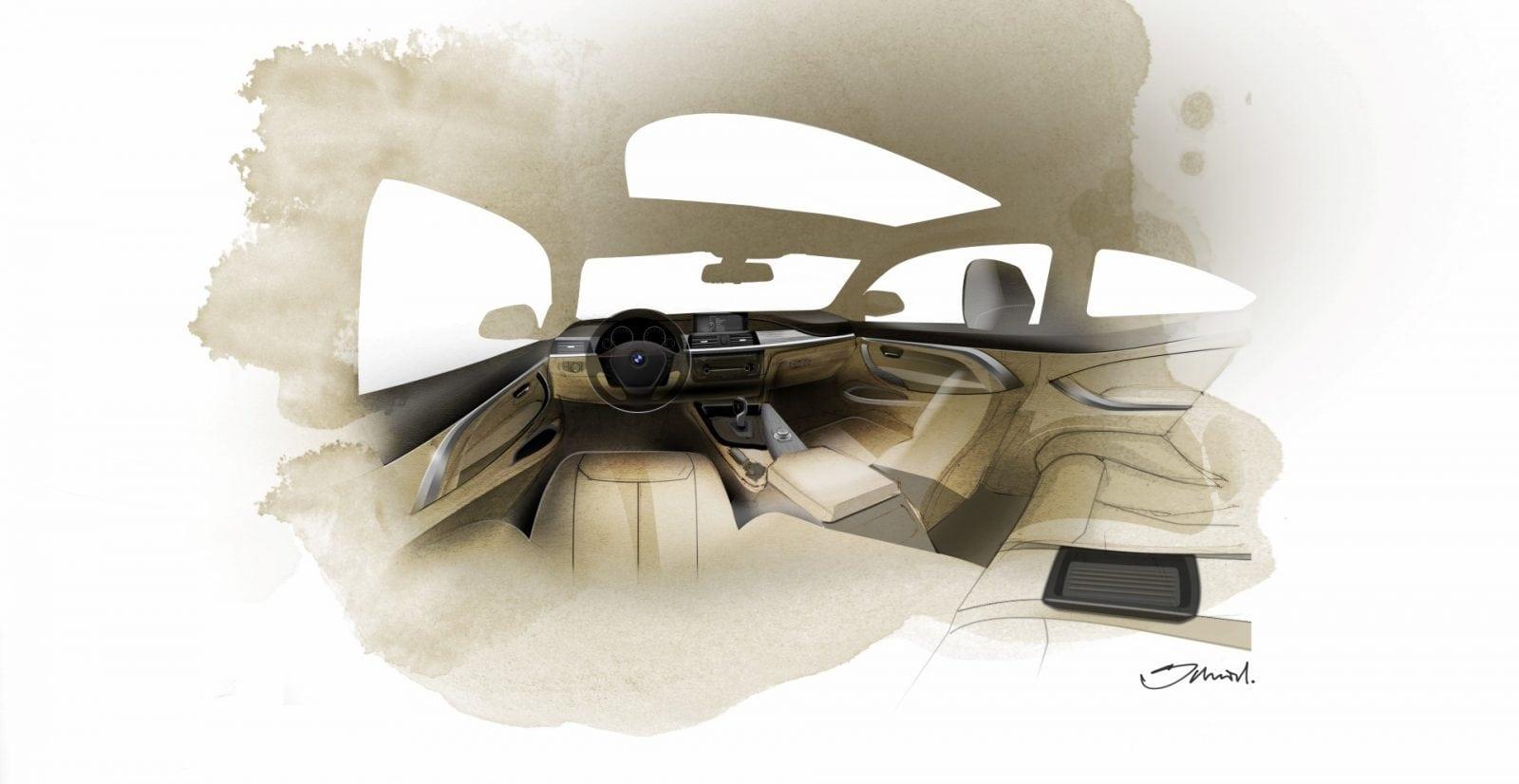 Дизайн BMW 4 Серии в кузове F32