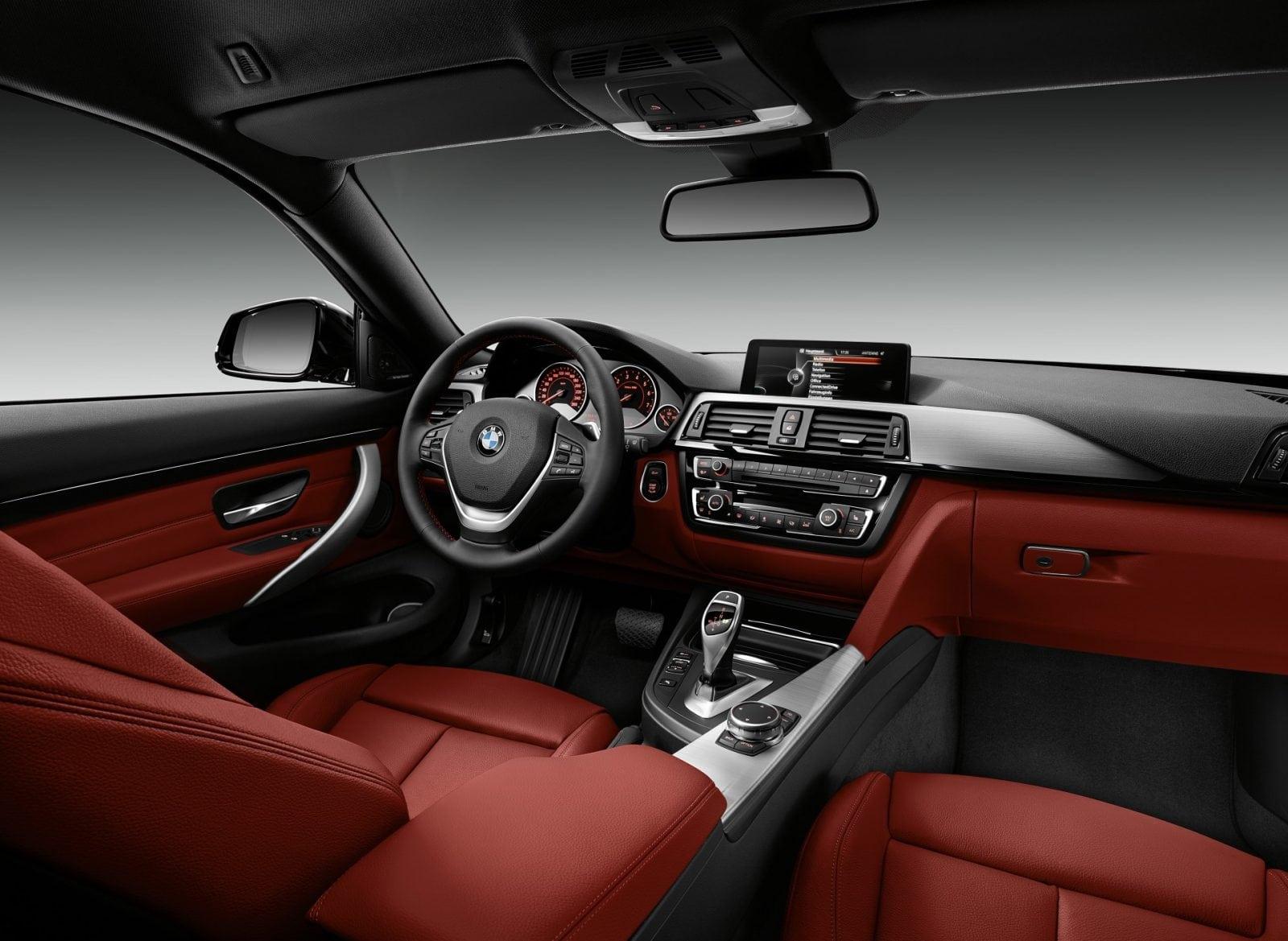 Интерьер BMW 4 Series F32