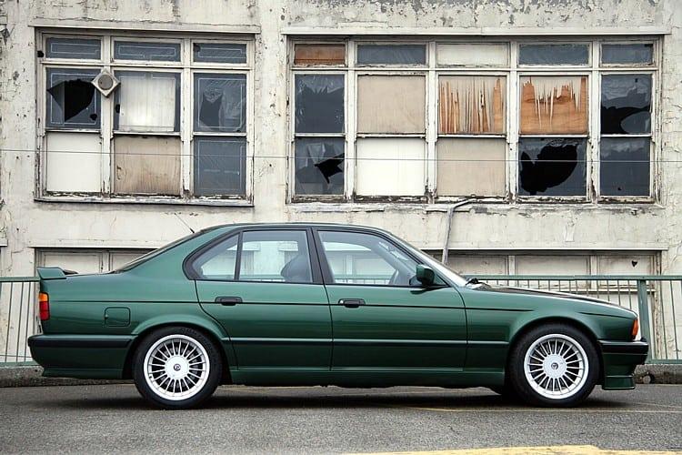 Green BMW Alpina B10 Bitrubo