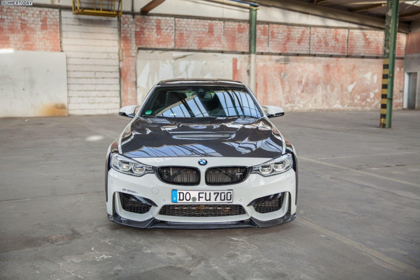 BMW М4 мощностью в 700 сил от Carbonfiber Dynamics