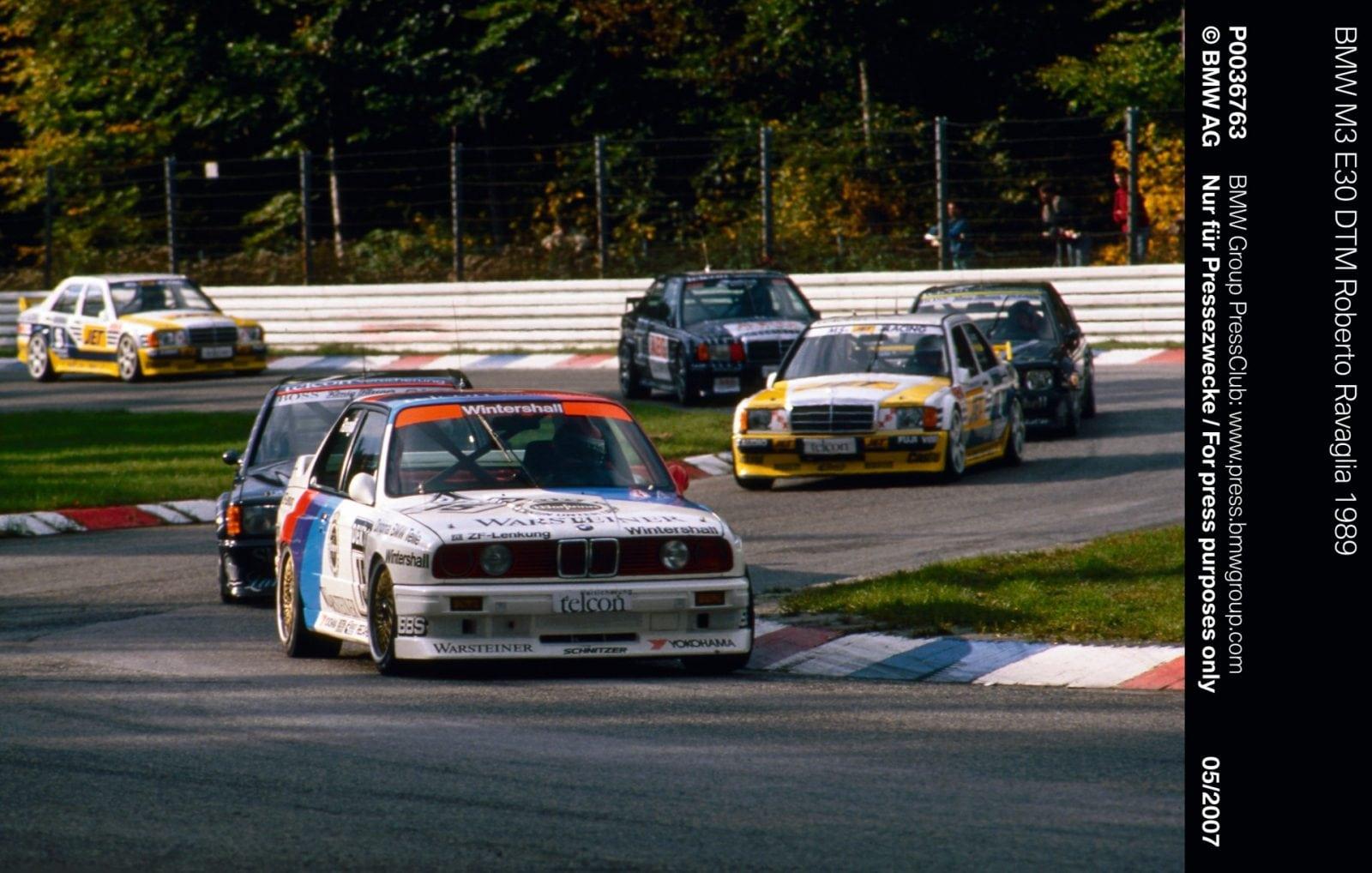 BMW M3 E30 DTM Roberto Ravaglia 1989 2