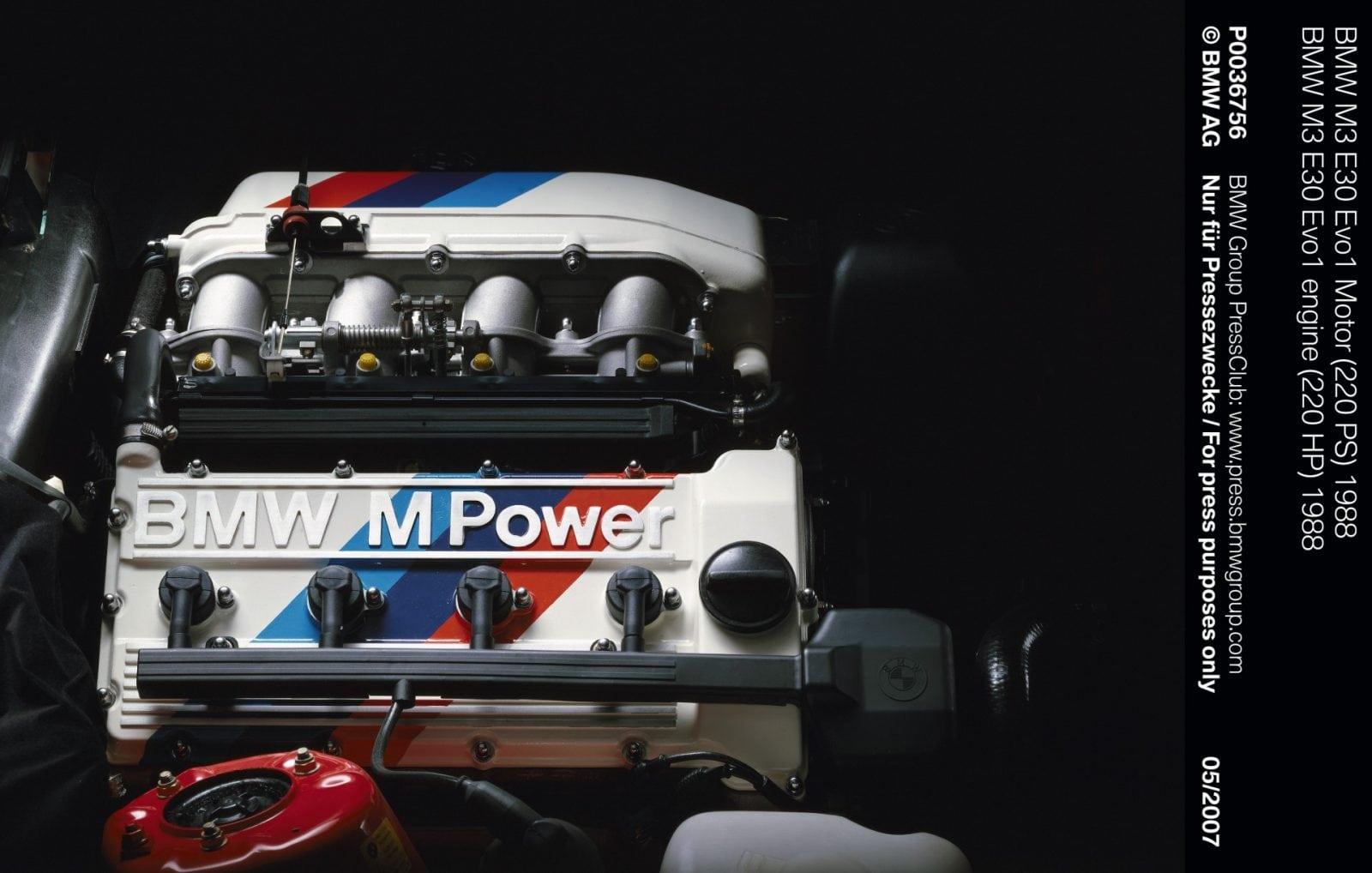 BMW M3 E30 Evo1 engine (220 HP) 1988