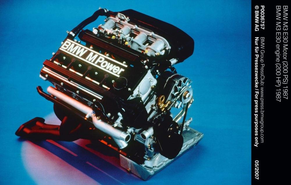 BMW M3 E30 engine (200 HP) 1987