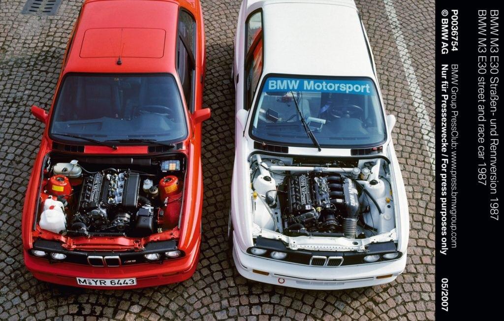 История BMW M3 E30 - первое поколение M3