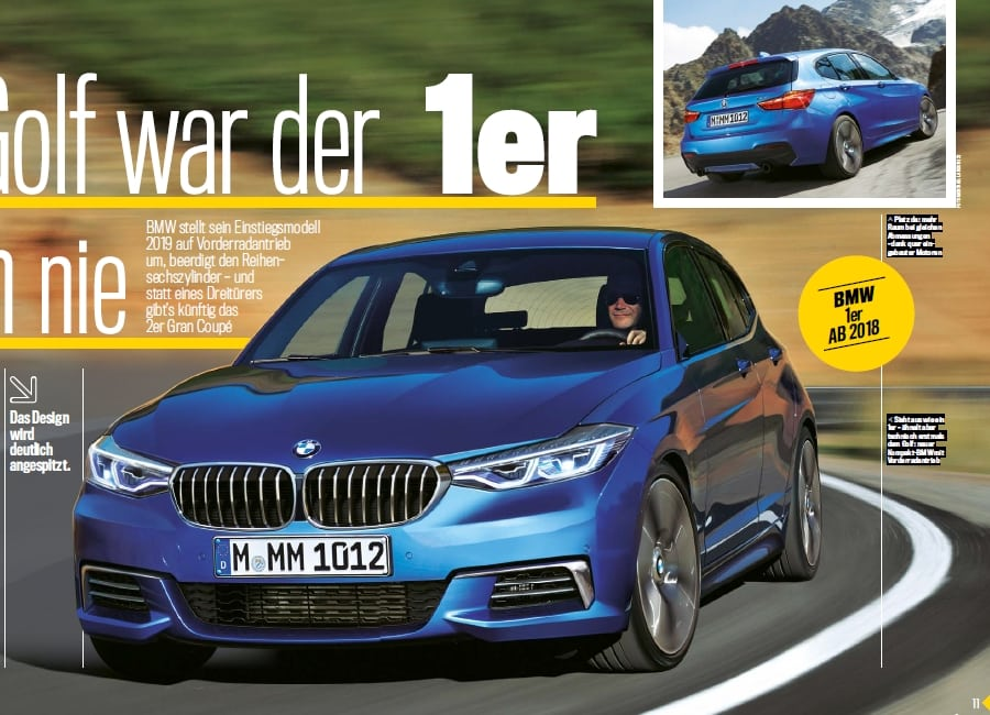 Новый хэтчбэк BMW выйдет под обозначением F40