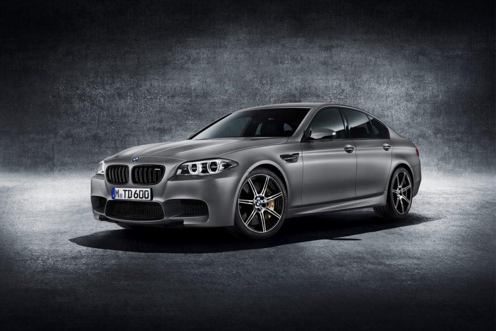 "Спецверсия BMW M5 F10 ""30 Jahre M5"" (30 years of the M5) специально к 30-летию M5"